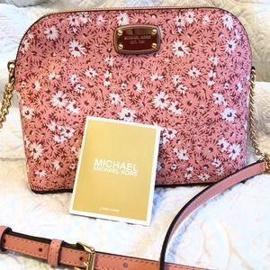 Michael Kors Floral Crossbody Bag